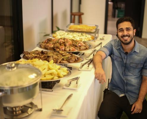 Adriano Sobral - Buffet de almoço - Sobral Gastronomia