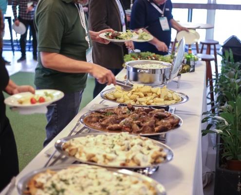 Buffet para almoço - Sobral Gastronomia