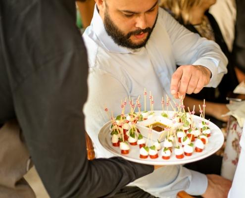 Coquetel Volante e convidado - Sobral Gastronomia
