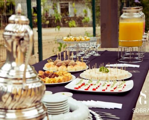 Mesa de Coffee Break - Sobral Gastronomia - 3213