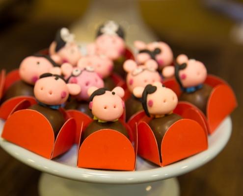 Buffet Infantil - Docinhos de chocolate - Sobral Gastronomia