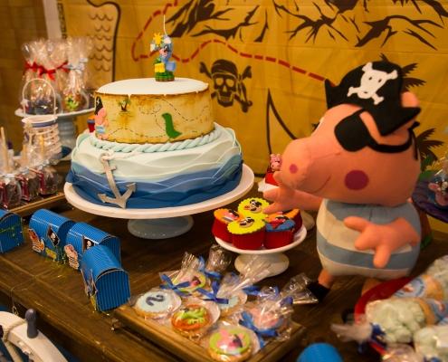 Buffet Infantil - Mesa George Pig - Sobral Gastronomia