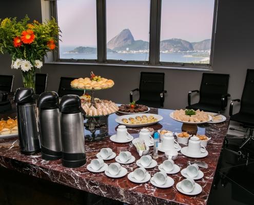 Mesa de Coffee Break - Sobral Gastronomia 341
