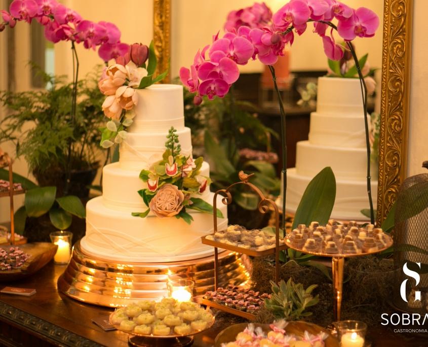 Bolo de Casamento - Sobral Gastronomia